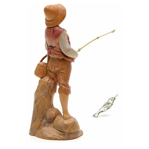Rybak stojący 12 cm Fontanini 2