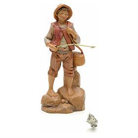 Pescador em pé 12 cm Fontanini s1