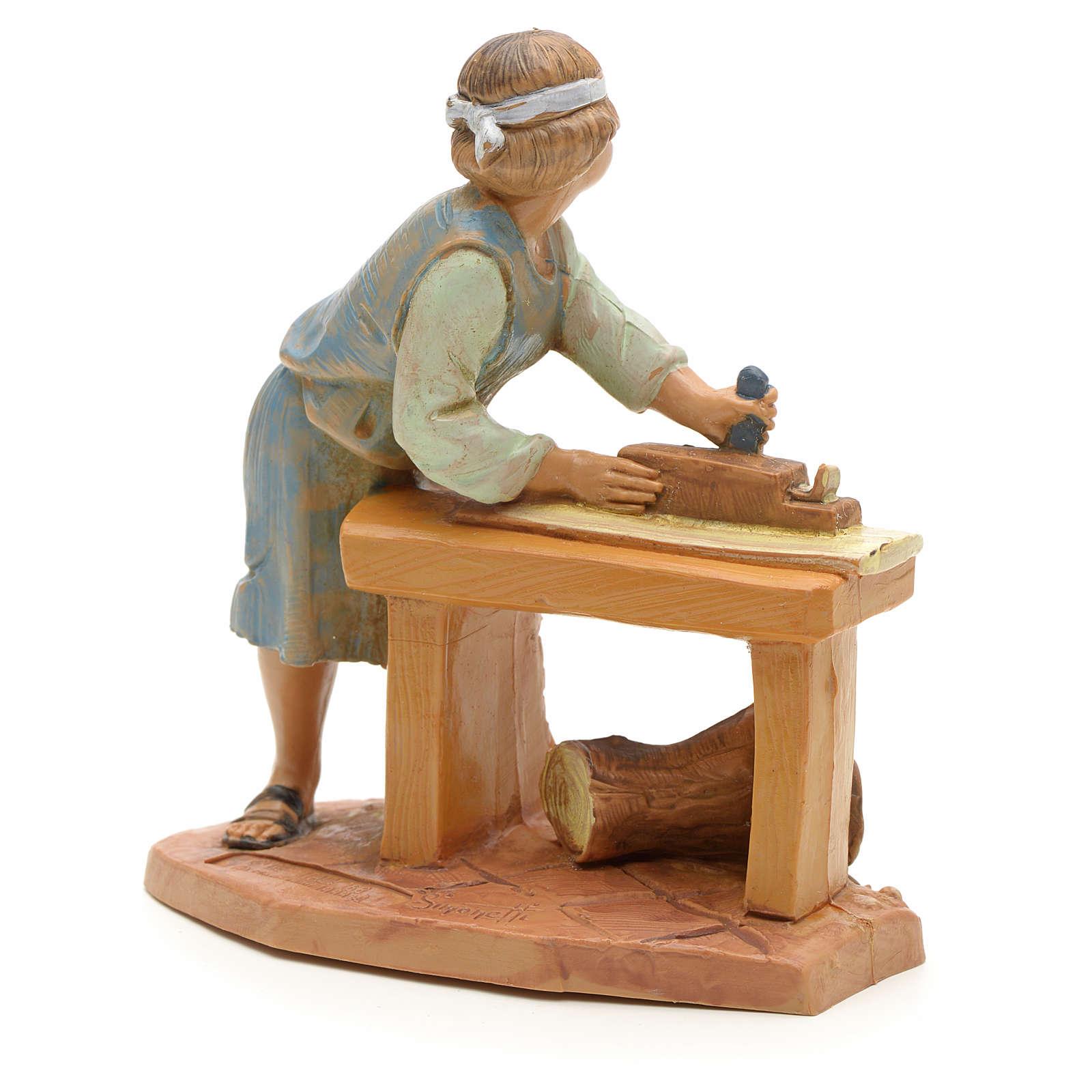 Carpintero para belén 12 cm Fontanini 4