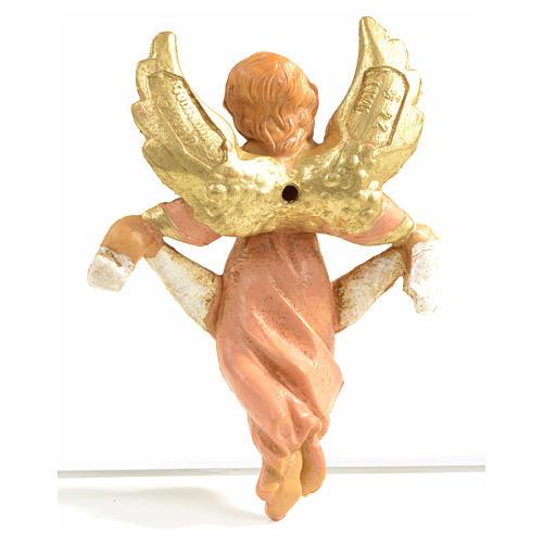 Anioł Gloria różowy 6.5 cm Fontanini 2