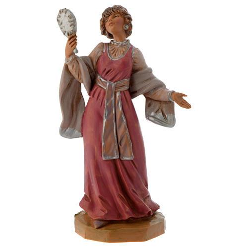 Mujer con joyas 12 cm Fontanini 1