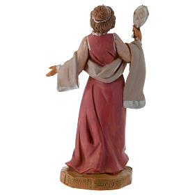 Femme aux bijoux crèche Fontanini 12 cm s3