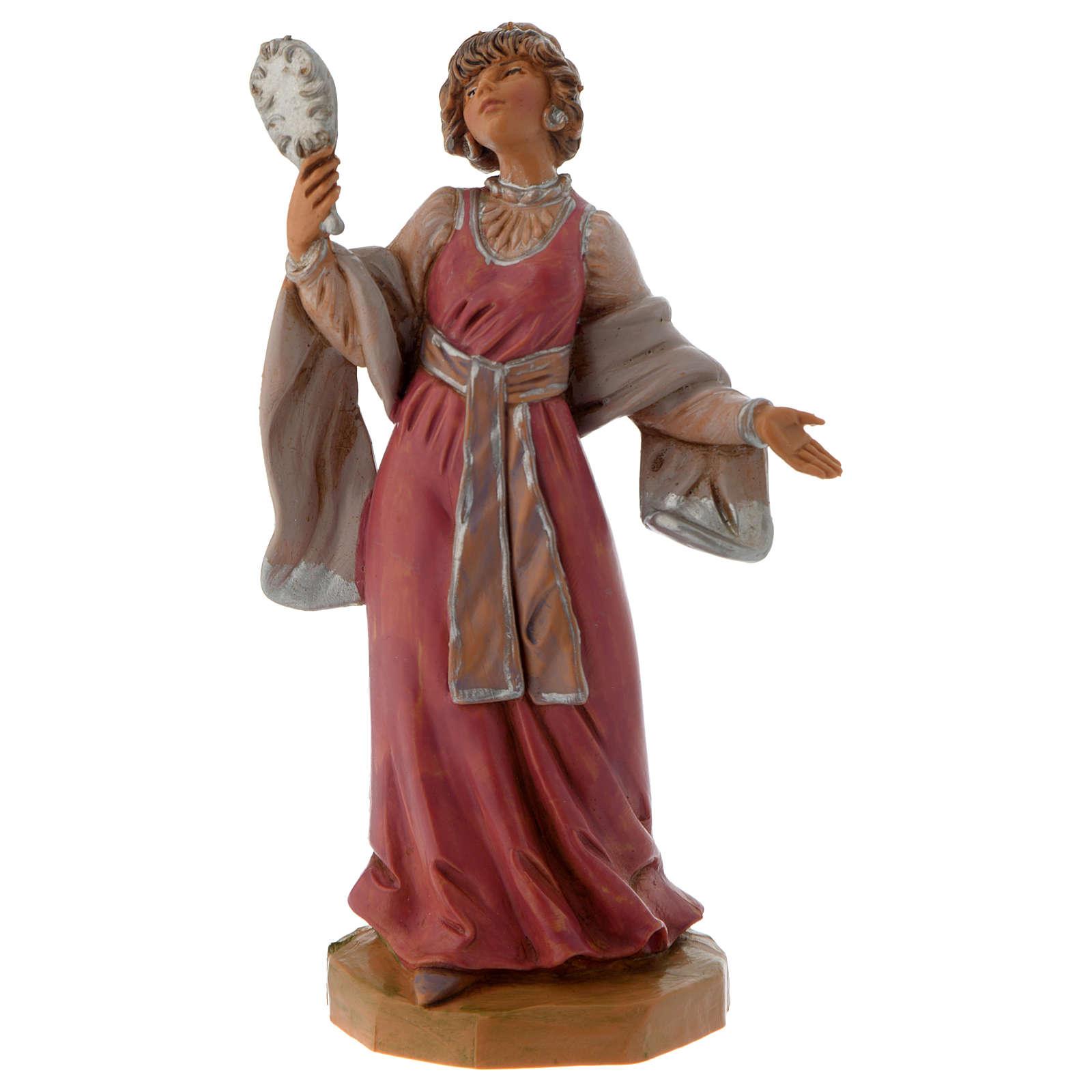 Donna con gioielli 12 cm Fontanini 4