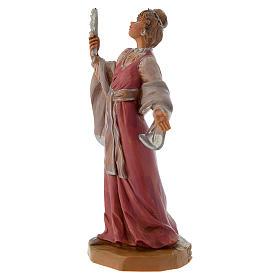 Donna con gioielli 12 cm Fontanini s2