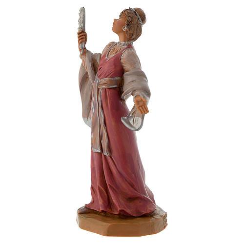 Donna con gioielli 12 cm Fontanini 2