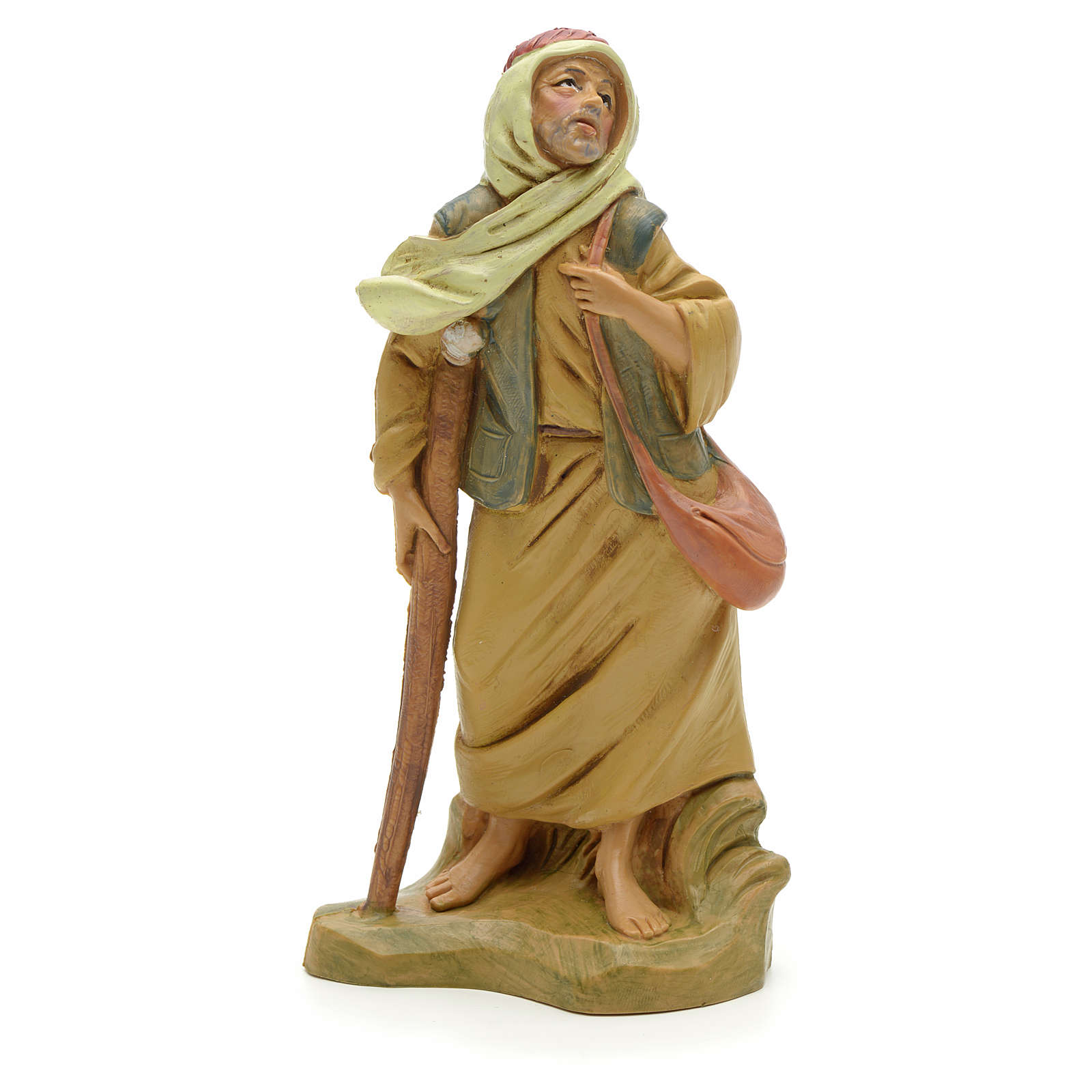 Pastor con la muleta 12 cm Fontanini 3