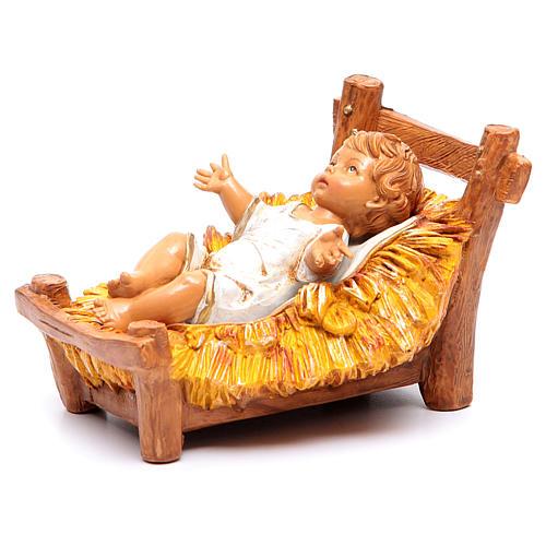 Enfant Jésus crèche Fontanini 30 cm 6