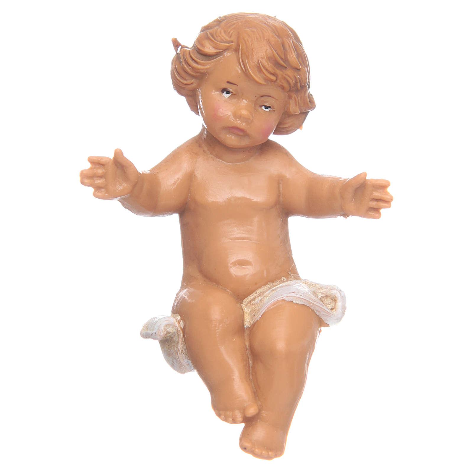 Niño Jesús para Belén Fontanini con figuras de altura media 12 cm 4