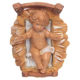 Niño Jesús para Belén Fontanini con figuras de altura media 12 cm s1