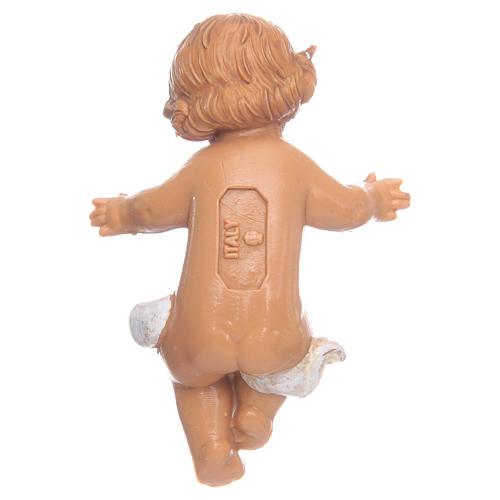 Niño Jesús para Belén Fontanini con figuras de altura media 12 cm 3