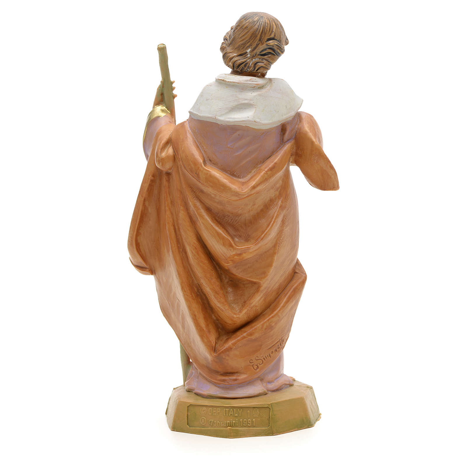 Joseph crèche Fontanini 12 cm 4