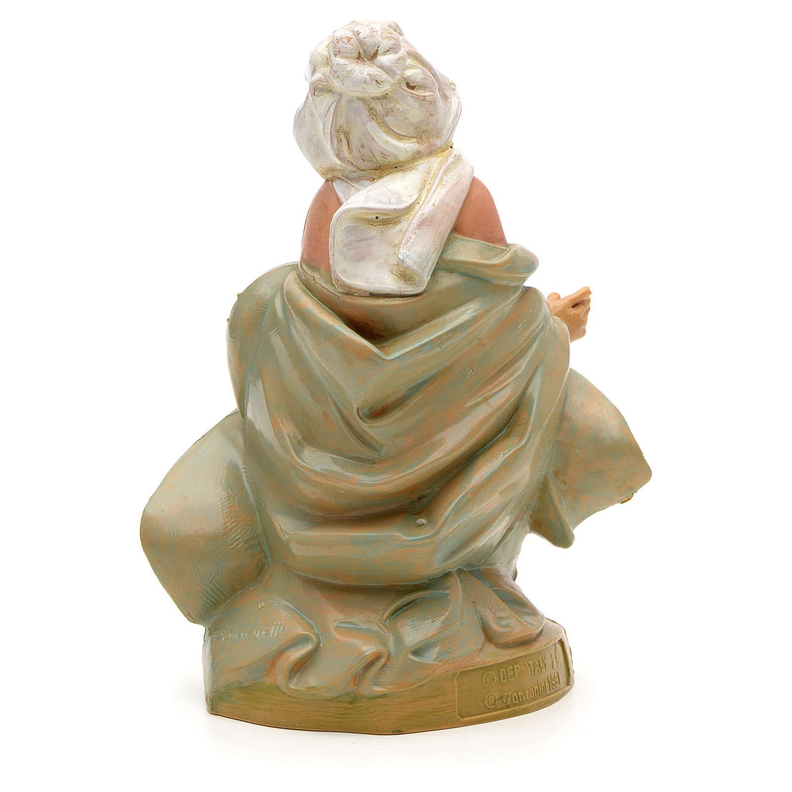 Vierge Marie crèche Fontanini 12 cm 3