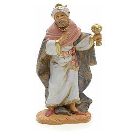 Figuras del Belén: Rey mago mulato 12 cm Fontanini
