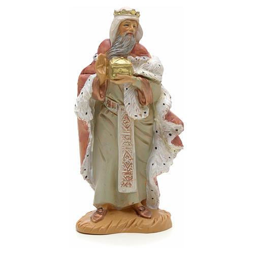 Król Mędrzec biały 12 cm Fontanini 1