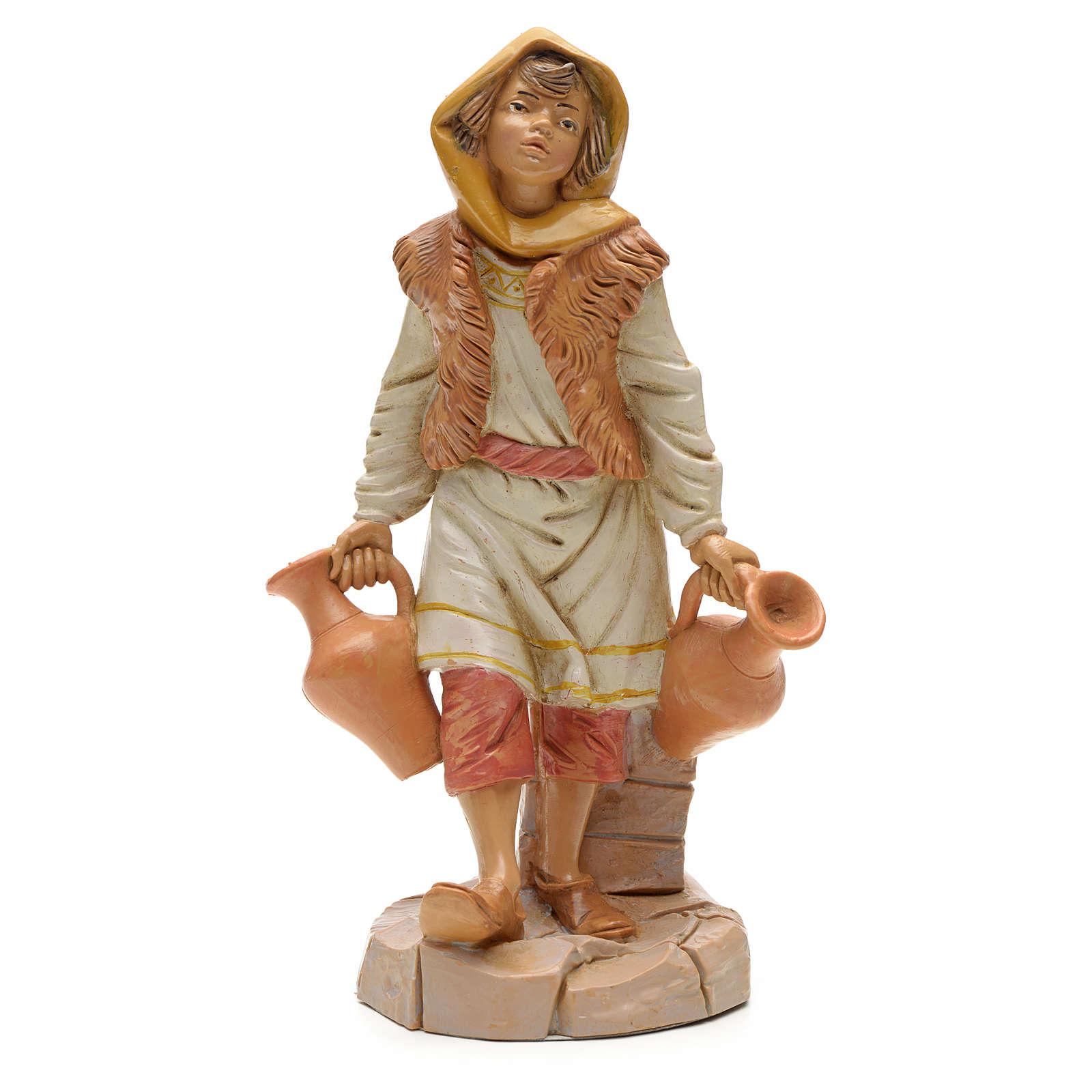 Pastor com jarras 30 cm Fontanini 3