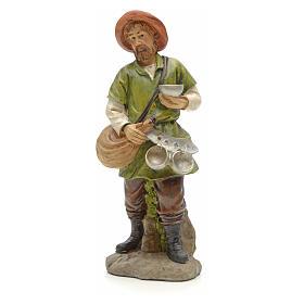 Nativity Scene figurines: Wayfarer figurine in resin for nativities of 20cm