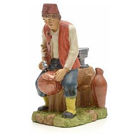 Figuras del Belén: Jovén herrero 20 cm resina