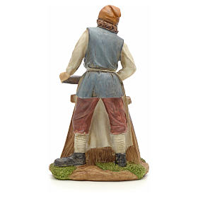 Carpenter figurine in resin for nativities of 20cm s3