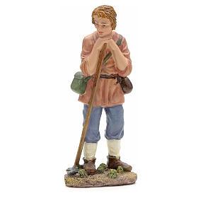 Nativity figurine, farmer with hoe 21cm s1