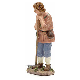 Nativity figurine, farmer with hoe 21cm s2