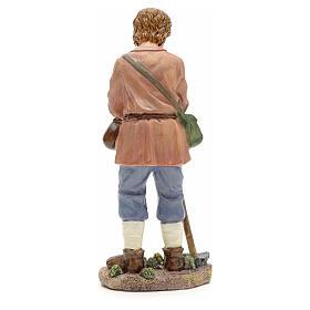 Nativity figurine, farmer with hoe 21cm s3