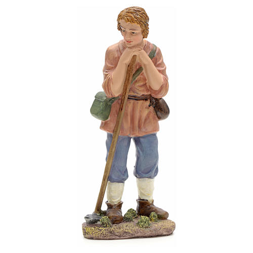 Nativity figurine, farmer with hoe 21cm 1