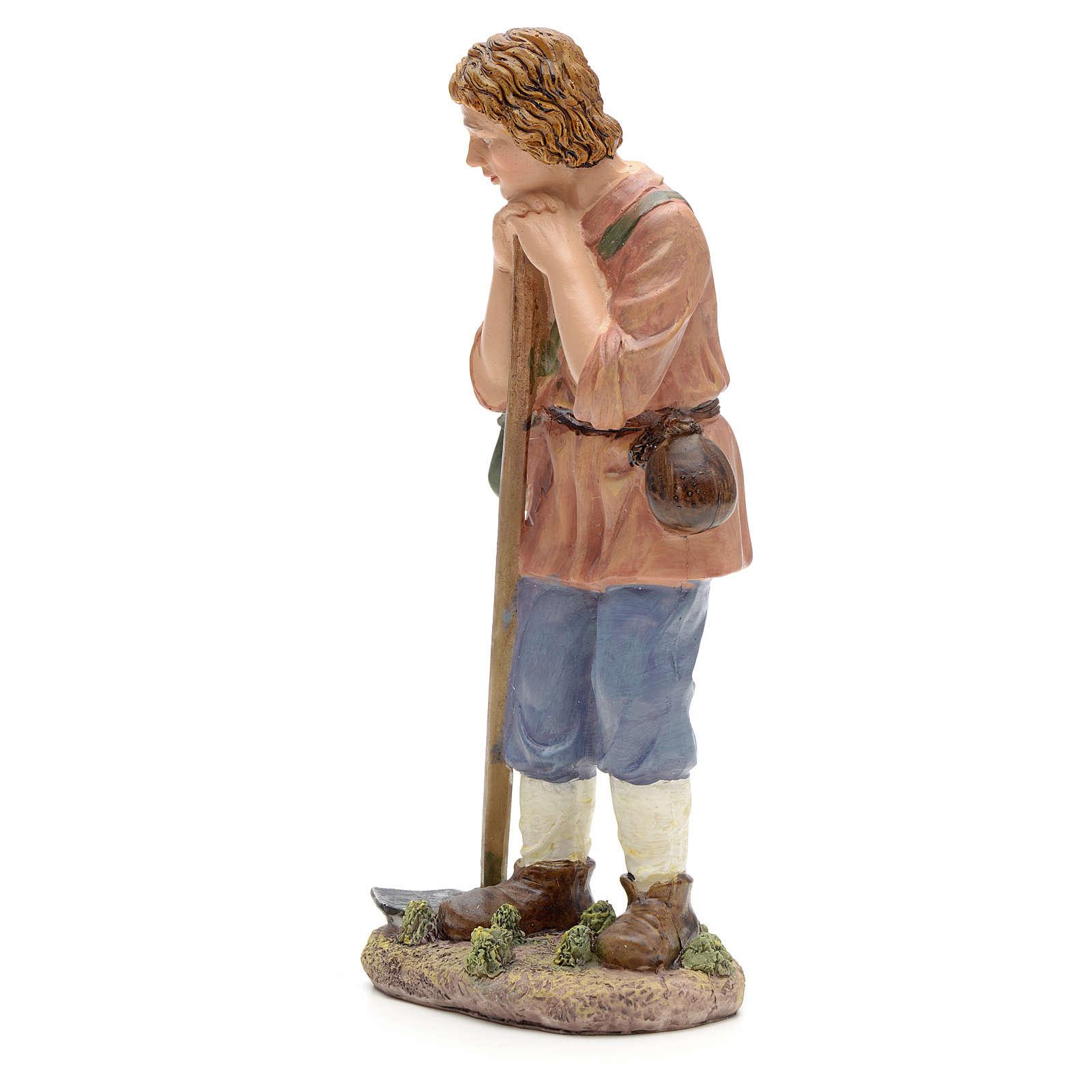 Campesino con azada 21 cm 3