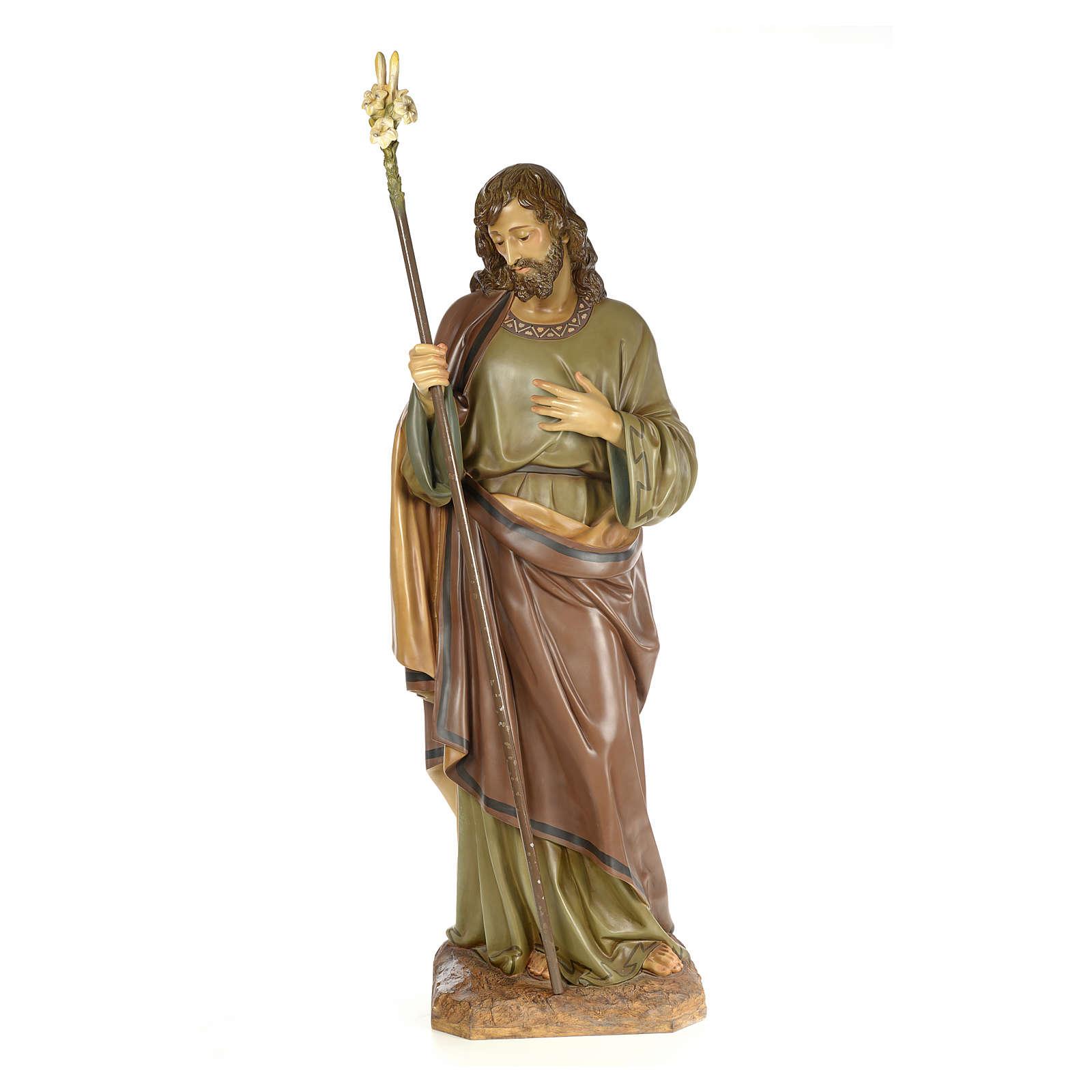 San Giuseppe 160 cm pasta di legno dec. elegante 3