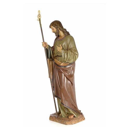 San Giuseppe 160 cm pasta di legno dec. elegante 2
