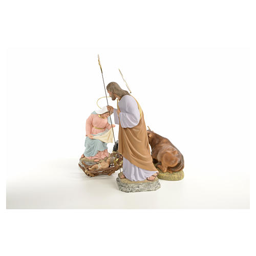 Natividad 30 cm pasta de madera dec. fina 6