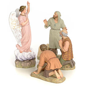 Nativity Scene figurines: Nativity figurine wood pulp, Annunciation, 30cm (fine dec.)