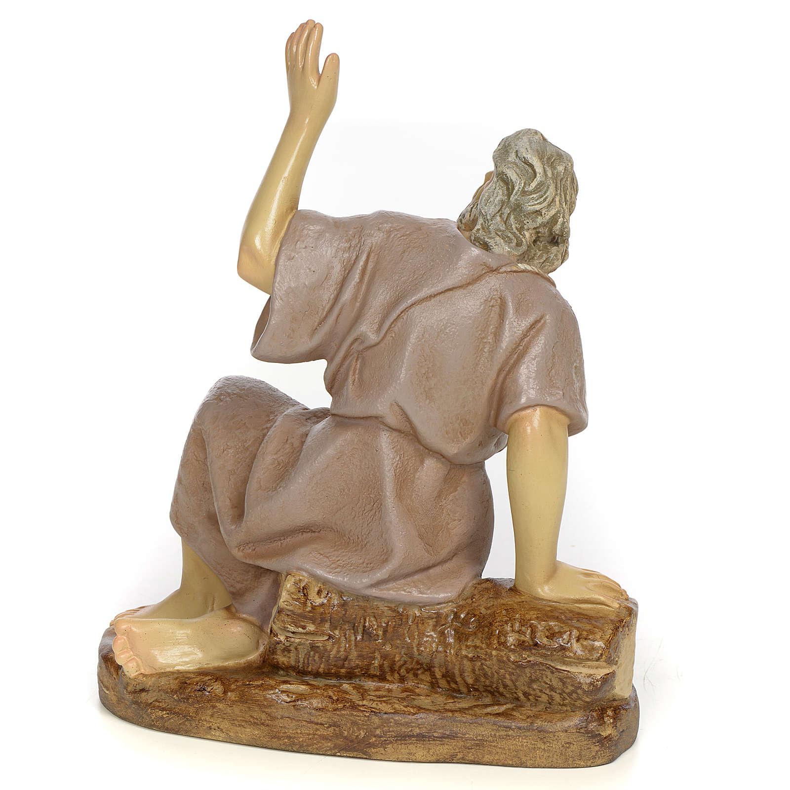 Nativity figurine, astonished man, 20cm (antique decoration) 3
