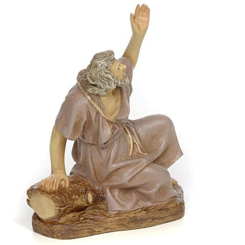 Nativity figurine, astonished man, 20cm (antique decoration) 2