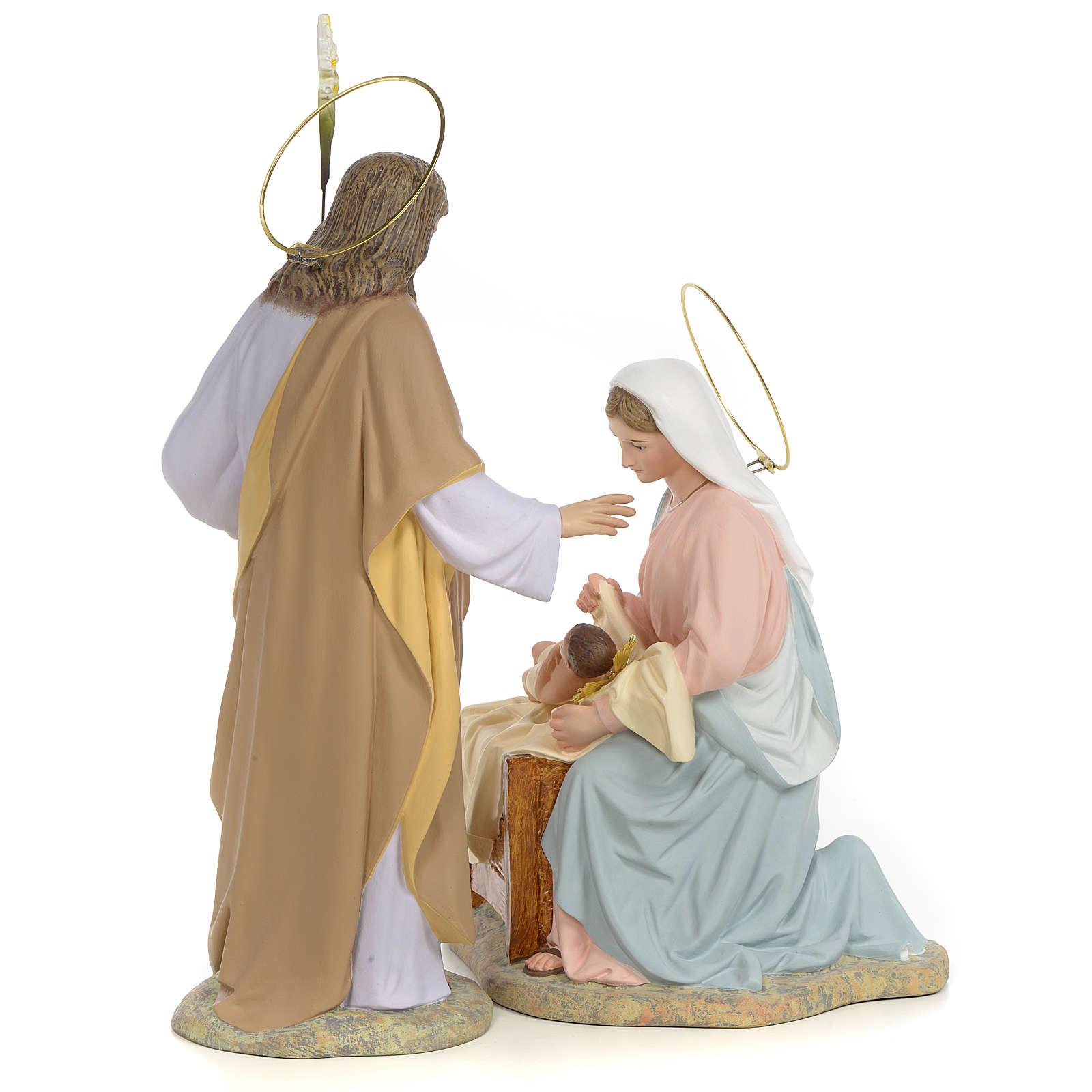 Sainte Famille nativité finition raffiné 40 cm 2 pcs 3