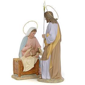 Sainte Famille nativité finition raffiné 40 cm 2 pcs s2