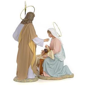 Sainte Famille nativité finition raffiné 40 cm 2 pcs s3