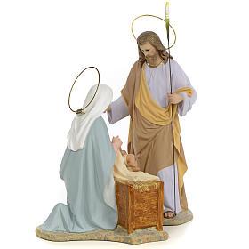 Sainte Famille nativité finition raffiné 40 cm 2 pcs s4
