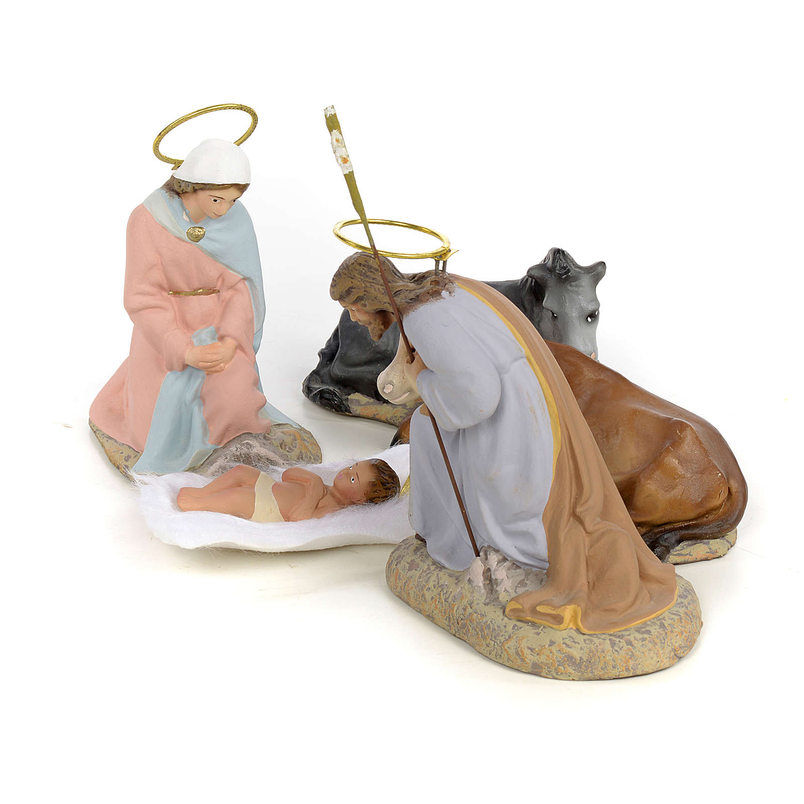 Nativity with 5 pieces, 40cm (fine decoration) 3