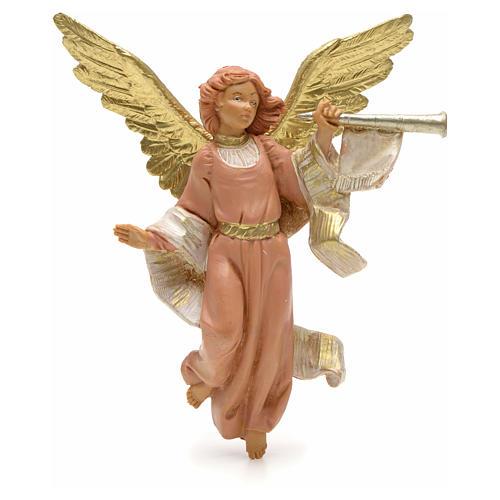 Anioł grający na trąbce 12 cm Fontanini 1