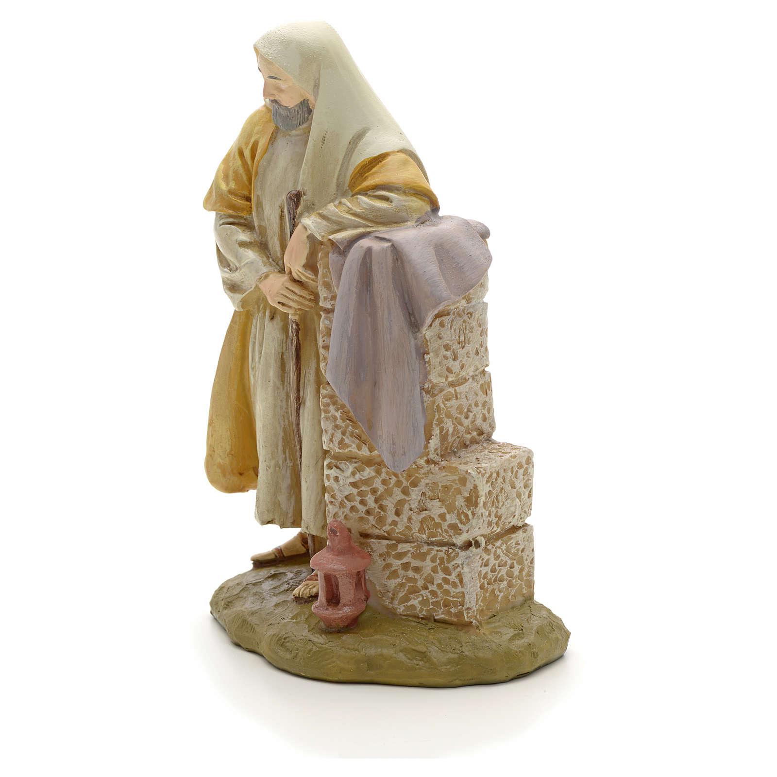 STOCK St Joseph résine crèche 12 cm 3