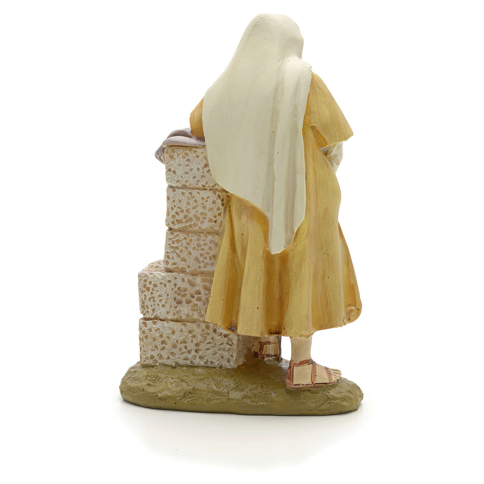 San Giuseppe 12 cm resina Linea Martino Landi 3