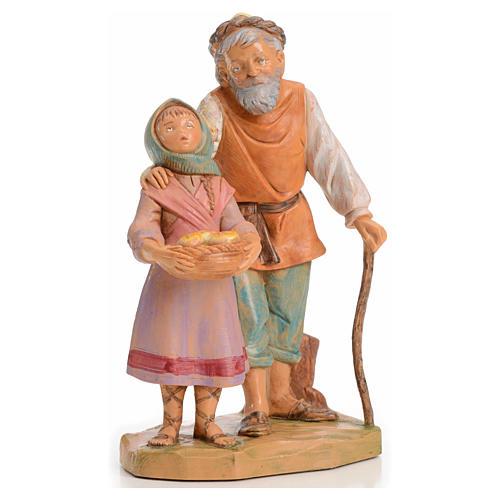 Abigail i Peter 12 cm Fontanini edycja limitowana rok 1994 1