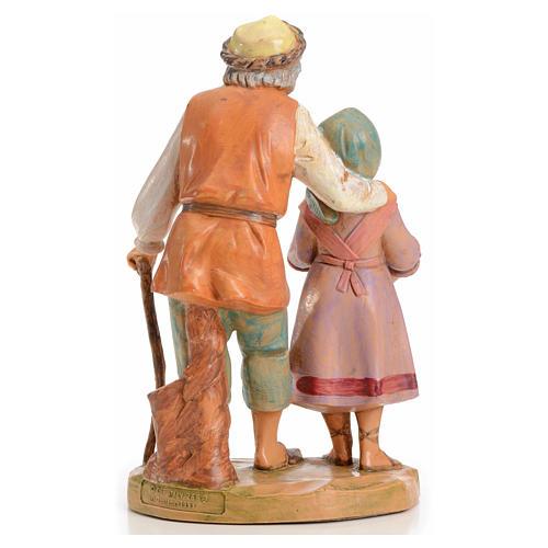 Abigail i Peter 12 cm Fontanini edycja limitowana rok 1994 2