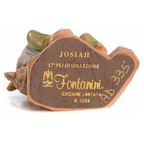 Josiah 12 cm Fontanini edición limitada año 2008 3