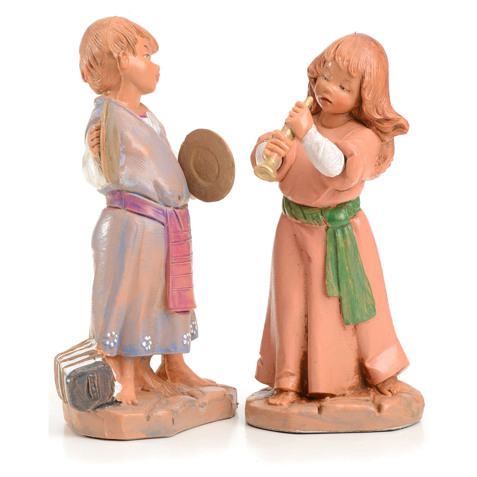 Tiras e Lena 12 cm Fontanini edición limitada 1999 3