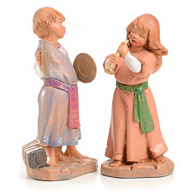 Tiras e Lena 12 cm Fontanini edición limitada 1999 s1