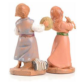 Tiras e Lena 12 cm Fontanini edición limitada 1999 s2