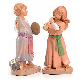 Tiras e Lena 12 cm Fontanini edizione limitata anno 1999 s1