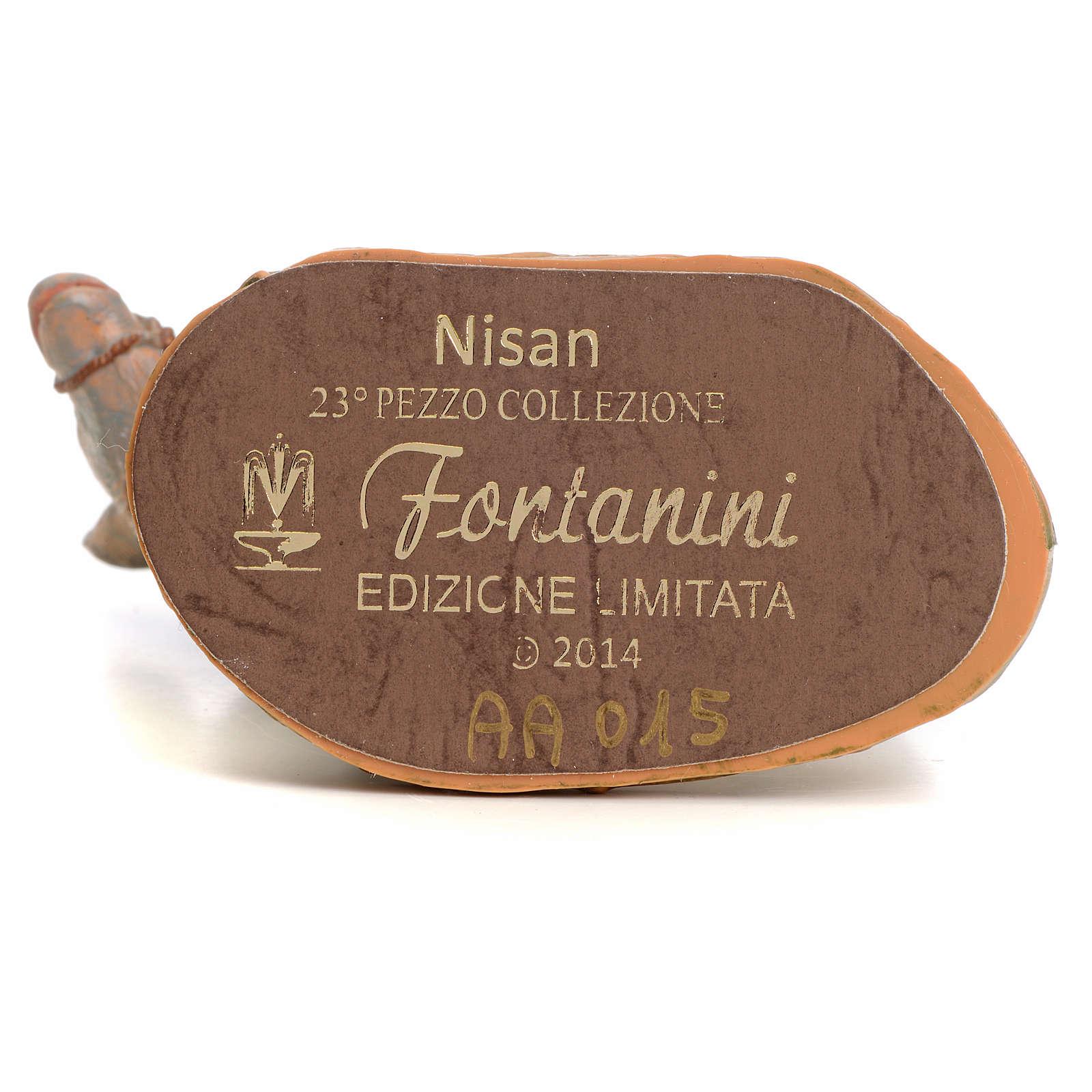Nisan 12 cm Fontanini edizione limitata anno 2014 3