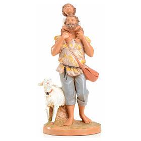 Statue per presepi: Jeshua e Adin 12 cm Fontanini edizione limitata anno 1993